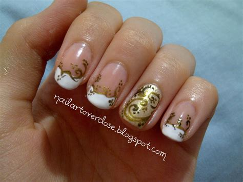 Gold Nail Designs free amazing styles gold nail designs