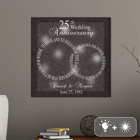 25th Wedding Anniversary Gifts for Her at Gifts.com