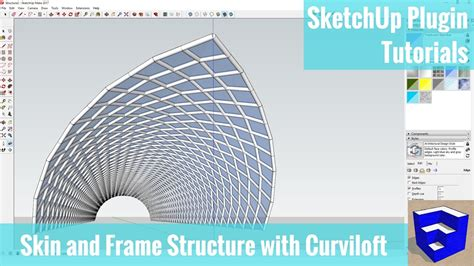 sketchup layout hidden geometry creating a frame and skin structure in sketchup with