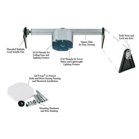 ceiling fan installation no attic access l top 45 pictures ceiling fan brace ceiling fan brace