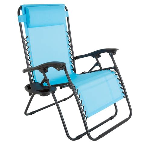 Pure Garden Oversized Zero Gravity Patio Lawn Chair In Oversized Patio Chairs