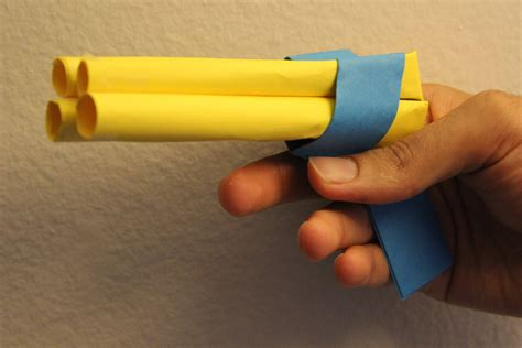 How To Make A Pistol Out Of Paper - maxresdefault jpg