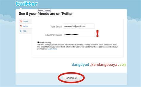 membuat email its cara mendaftar twitter agus prasetyo