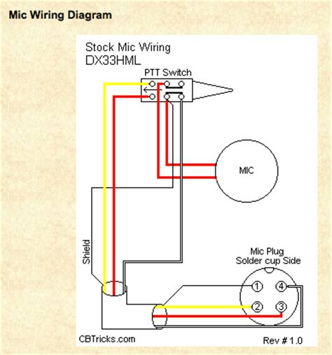 astatic 636l 4 pin wiring diagram style by