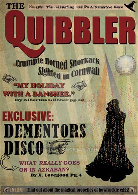 printable quibbler quibbler by acatnamedvoldemort harry potter posters