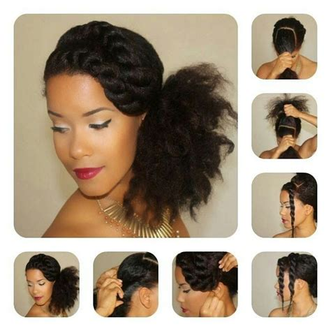 step by step instructions for natural hair les 25 meilleures id 233 es de la cat 233 gorie cheveux cr 233 pus sur