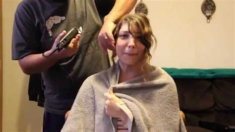old lady headshave head shave bald women headshave video women get shaved bald shaving my head for chemo