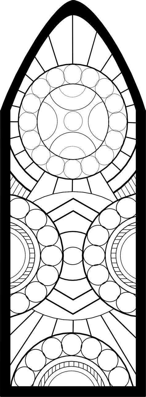 stained glass window templates stained glass template
