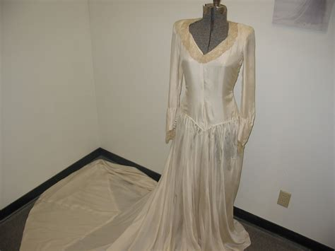 Wedding Dress Made From Saving Parachute by Catch 22