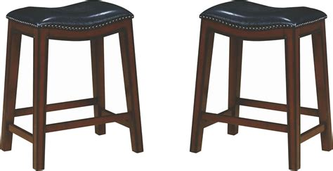 Counter Height Bar Stools Set Of 2 by Rec Room Upholstered Counter Height Stool Set Of 2 From
