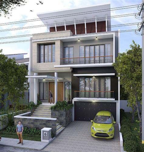 desain rumah mewah modern bergaya minimalis terbaru  dekor rumah
