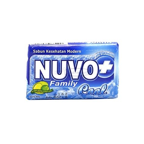 nuvo sabun kesehatan family cool bar 80g klikindomaret