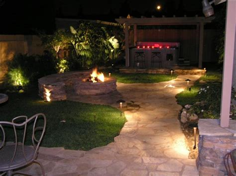 Outdoor Backyard Lighting Ideas Landscape Lighting Ideas