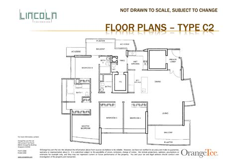 lincoln memorial floor plan 4 bedroom the lincoln residences