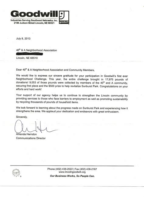 Credit Report Letter Of Goodwill Sle Letter To Collection Agency To Remove From Credit Report Goodwill Forgiveness Letter