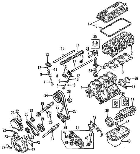 mitsubishi oem parts diagram parts 174 mitsubishi engine camshaft timing balance