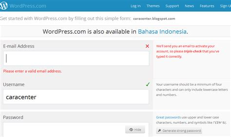 cara membuat blog wordpress yang bagus contoh email yang berbayar tweeter directory