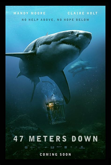 47 meters to feet 47 meters down 2017 trailer mandy moore claire holt
