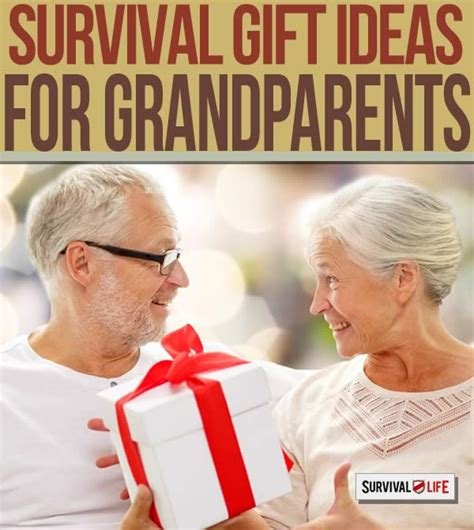 ideas from baby to grandparents for christmas preparedness gifts for grandparents survival