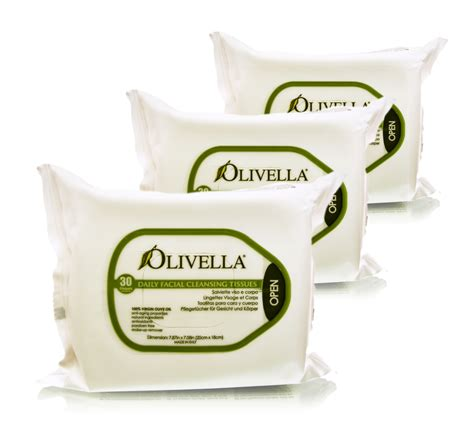 Tissue Detox by Olivella Usa Cleansing Tissues Towels Wipes Made