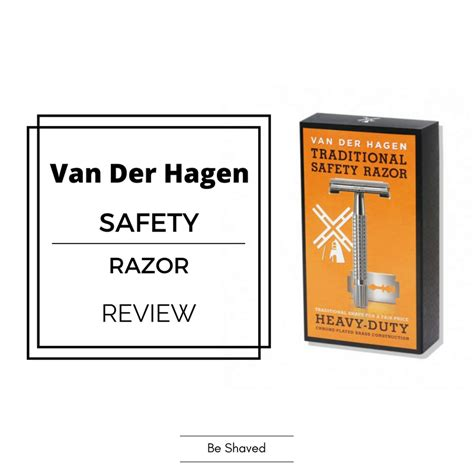 safety razor review der hagen safety razor review be