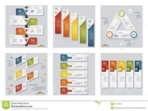 graphic design layout template collection of 6 design template graphic or website layout