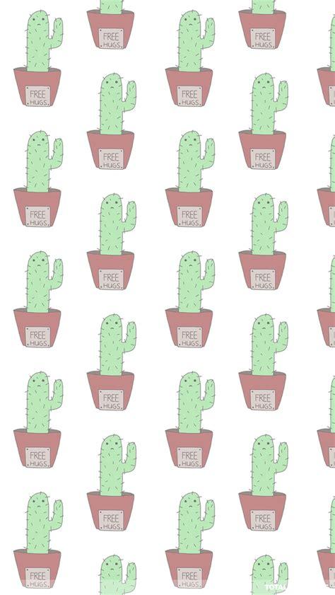 wallpaper iphone cactus free hug cactus whatsapp wallpaper cute whatsapp chat