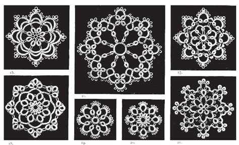 antique pattern library tatting share