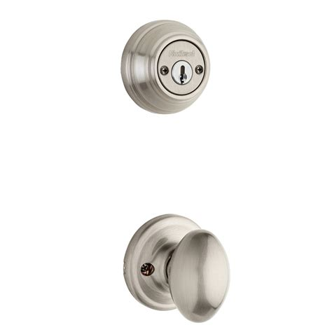 kwikset door handle 100 kwikset interior door knobs glass shop kwikset laurel 1 3 4 in satin nickel double cylinder
