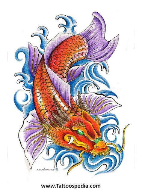 koi tattoo head koi fish dragon head tattoo designs 3