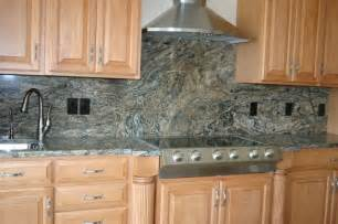 Ideas For Kitchen Countertops And Backsplashes by Granite Countertops And Tile Backsplash Ideas Eclectic