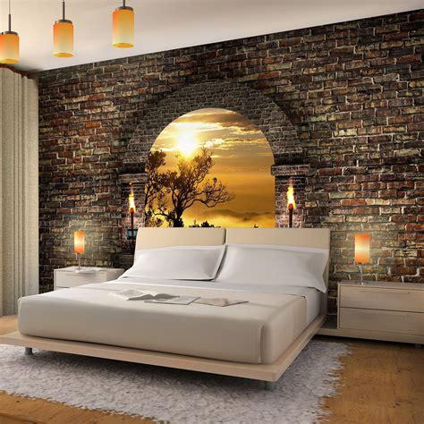 3d tapeten schlafzimmer vlies fototapete tropical sunset fototapete