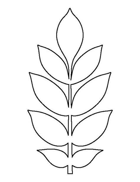 leaf pattern craft ash leaf pattern use the printable outline for crafts