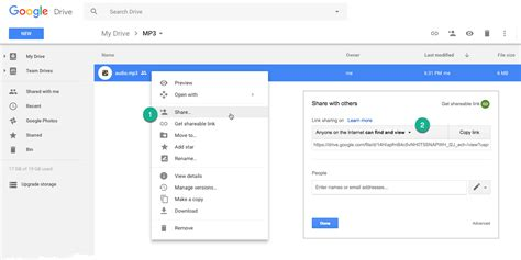 drive google com file d how to embed mp3 audio files in web pages with google drive
