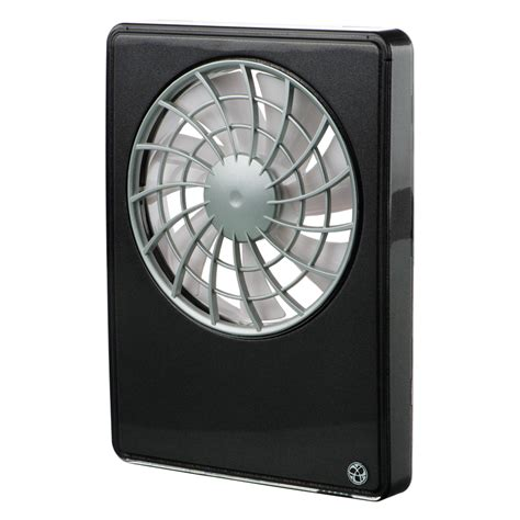black kitchen fan remote intelligent silent bathroom kitchen