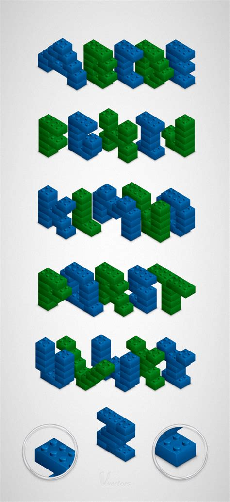 lego letter tutorial how to create a 3d lego text effect in adobe illustrator