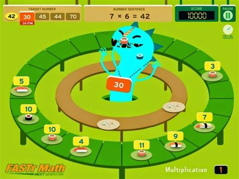 Sushi Matah a and free app for practicing addition and