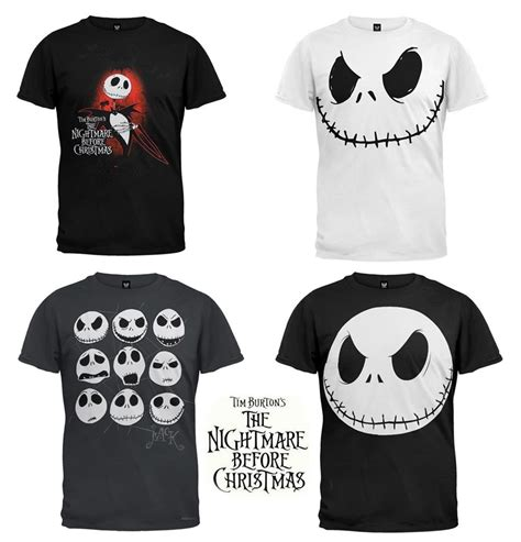 the nightmare before merch the nightmare before skellington faces