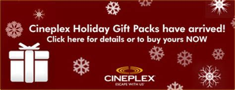 Buy Odeon Gift Card - cineplex odeon buy 30 gift card get 70 in extra coupons holiday gift pack