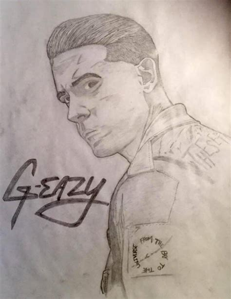 G Eazy Sketches by G Eazy Drawing Pictures To Pin On Pinsdaddy