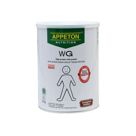 Appeton Weight Gain 900 Gram jual appeton weight gain cokelat 900 gram