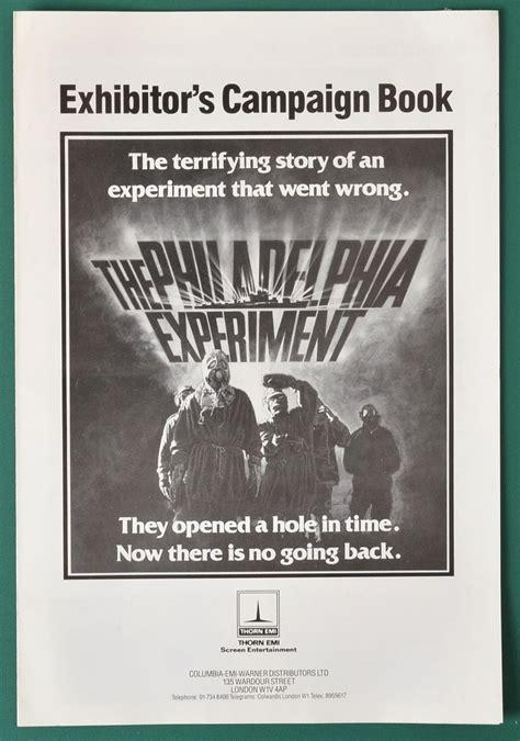 p is for philadelphia books philadelphia experiment the original 4 page cinema