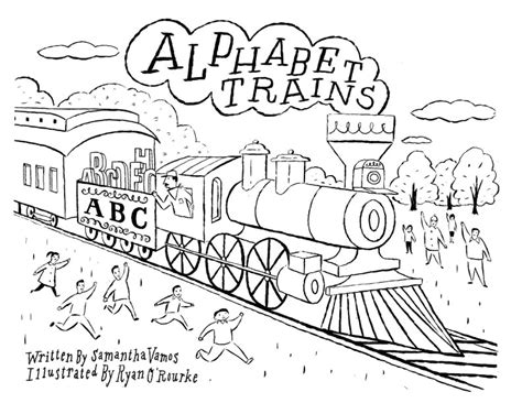 abc train coloring page alphabet train learning letters sketch coloring page