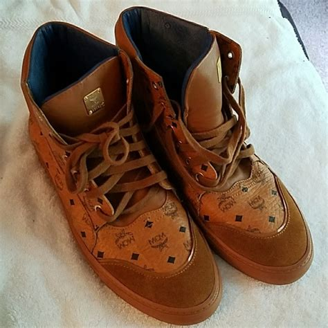 mcm kid shoes 50 mcm shoes authentic mcm visetos high top