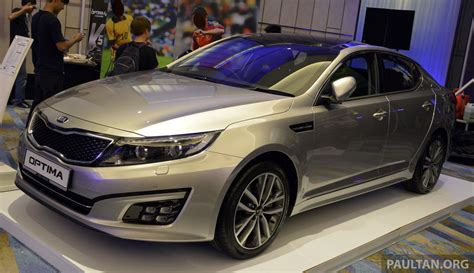 kia optima k5 facelift officially launched rm149 888