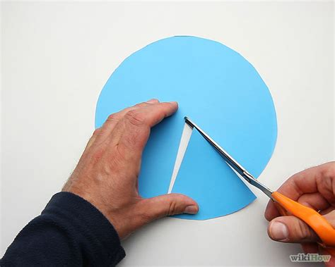 How To Make A Cone Shape Out Of Construction Paper - 4 ways to make a funnel or cone from paper wikihow