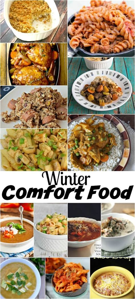winter comfort food recipes nap time creations