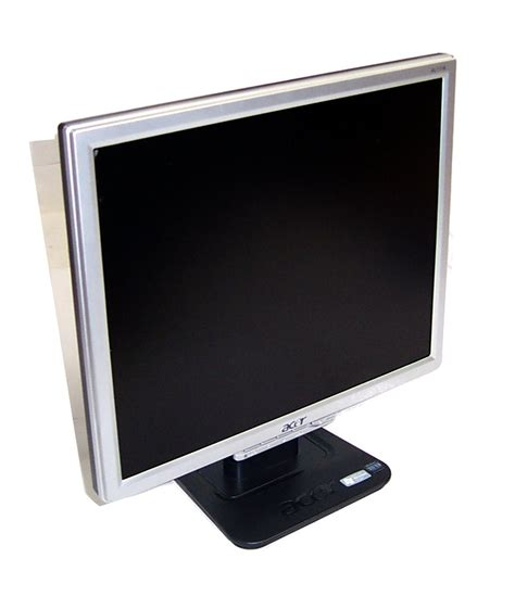 Monitor Lcd Acer 17 Inch Second acer al1716 17 inch lcd monitor silver black grade b ebay