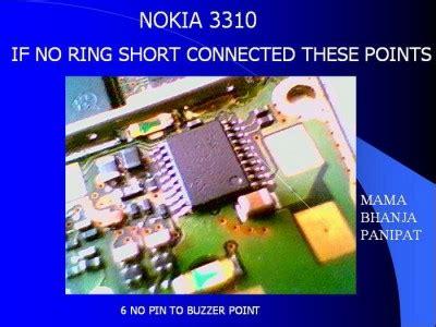 Speaker Hp Nokia 3310 handphone gsm cdma trik jumper nokia 3310 audio
