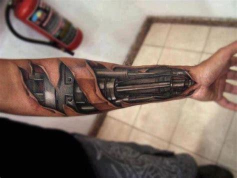 tato tangan kartun mr roboto tato tatto 3 dimensi jadi kelihatan